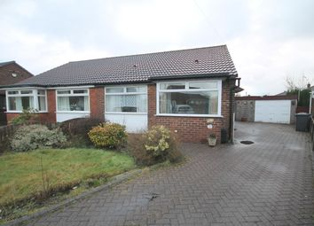 Thumbnail 2 bed semi-detached bungalow for sale in Dunster Road, Worsley, Manchester
