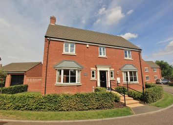 Thumbnail 5 bed detached house for sale in Eaton Way, Longstanton, Cambridge