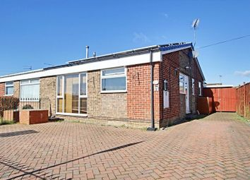 Thumbnail 3 bedroom semi-detached bungalow for sale in Inmans Road, Hedon, Hull