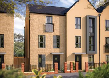 "Thumbnail 3 bed town house for sale in ""The Calverton"" at London Road, Calverton, Milton Keynes"