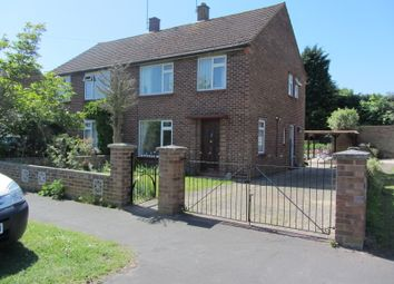 Thumbnail 3 bed semi-detached house to rent in Bowling Green Road, Chobham