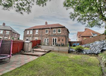 Thumbnail 2 bed semi-detached house for sale in Pattinson Gardens, Gateshead