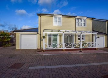 Thumbnail 3 bed link-detached house for sale in Lampon Close, West Bergholt, Colchester, Essex