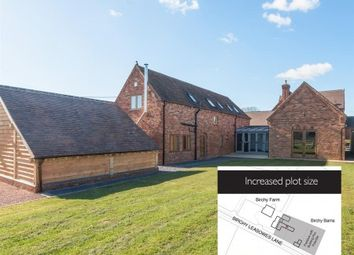 Thumbnail 5 bedroom barn conversion for sale in Birchy Leasowes Lane, Tidbury Green, Solihull, West Midlands