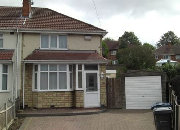 Thumbnail 2 bed semi-detached house to rent in Knebworth Close, Great Barr