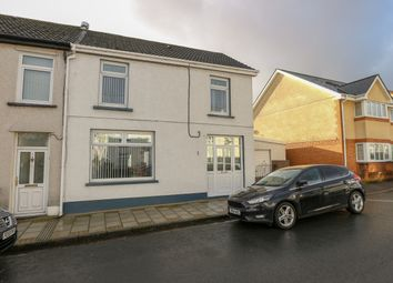 Thumbnail 3 bed end terrace house for sale in Jenkins Place, Twynyrodyn, Merthyr Tydfil
