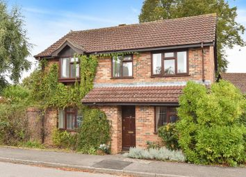 Thumbnail 3 bed detached house for sale in Herridge Close, Bramley, Tadley