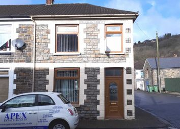 Thumbnail 2 bed end terrace house for sale in Vaughan Street, Pontypridd