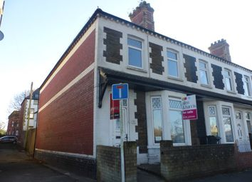 Thumbnail 3 bedroom end terrace house for sale in Clarence Embankment, Grangetown, Cardiff