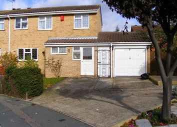 Thumbnail 3 bed semi-detached house to rent in Millhaven Close, Romford, Essex