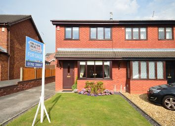 Thumbnail 3 bedroom semi-detached house for sale in Vienna Way, Longton, Stoke-On-Trent