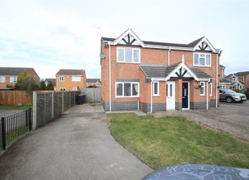 Thumbnail 3 bed semi-detached house to rent in Hadrian Close, Hinckley