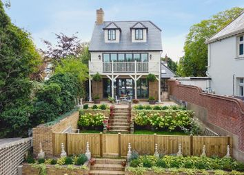 Thumbnail 4 bed detached house for sale in Manor Road, Walton-On-Thames