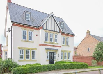 Thumbnail 5 bed detached house for sale in Crowsley Road, Bedford