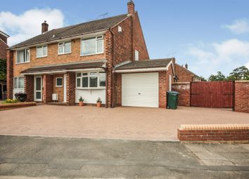 Thumbnail 3 bed semi-detached house for sale in Aynho Close, Coventry