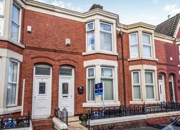 Thumbnail 4 bed terraced house to rent in Connaught Road, Kensington, Liverpool