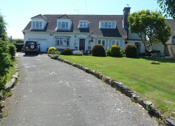 Thumbnail 5 bed detached house for sale in Fonmon Road, Rhoose, Barry