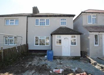 Thumbnail 3 bed semi-detached house to rent in Feenan Highway, Tilbury, Essex