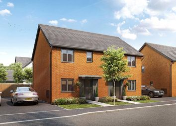 Thumbnail 2 bed semi-detached house for sale in Wheatfield Drive, Witney, Oxfordshire