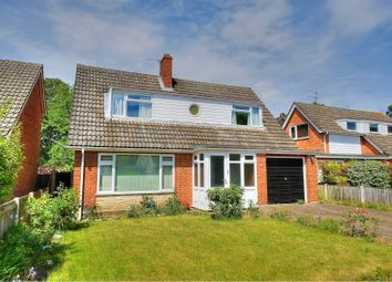 Thumbnail 3 bed detached house for sale in Higham Close, Norwich