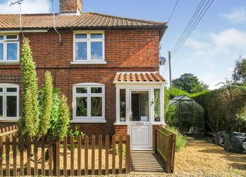 Thumbnail 2 bed end terrace house for sale in Sea Palling Road, Ingham, Norwich