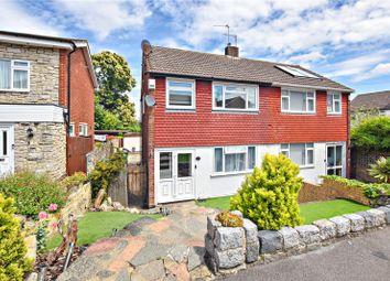 Thumbnail 3 bed semi-detached house for sale in Woodlands Park, Joydens Wood, Kent