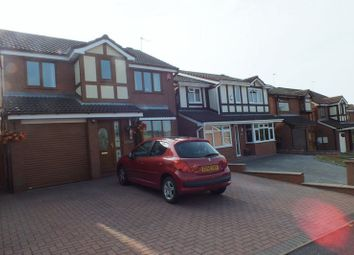 Thumbnail 4 bed detached house for sale in Appledore Grove, Packmoor, Stoke-On-Trent