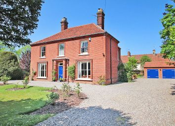 Thumbnail 5 bed detached house for sale in The Street, Brundall, Norwich