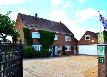 Thumbnail 5 bed detached house for sale in Woodside Avenue, Dersingham, King's Lynn