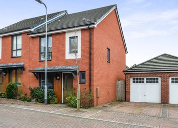 Thumbnail 3 bed semi-detached house for sale in Bartley Wilson Way, Cardiff