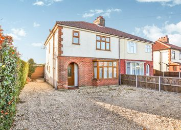 Thumbnail 3 bed semi-detached house for sale in Reepham Road, Hellesdon, Norwich