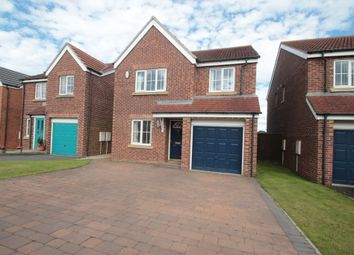 Thumbnail 4 bed detached house for sale in Meadowfield, Burnhope, County Durham