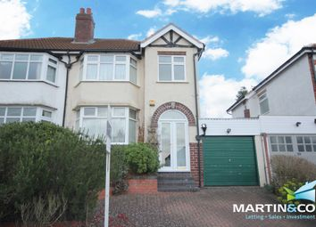 Thumbnail 3 bed semi-detached house to rent in Weymoor Road, Harborne