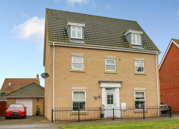 Thumbnail 5 bed detached house for sale in Sycamore Drive, Rendlesham, Woodbridge