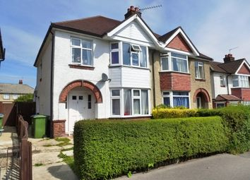 Thumbnail 4 bedroom semi-detached house for sale in Elm Close, Bassett Avenue, Southampton