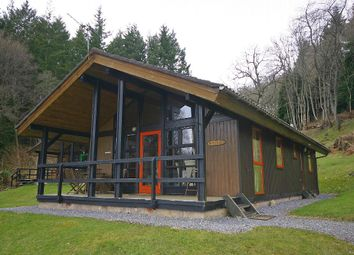 Thumbnail 3 bed lodge for sale in Redburn, Loch Tay Highland Lodges, Milton Morenish, Killin