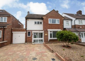 Thumbnail 3 bed detached house for sale in Anglesmede Crescent, Pinner, Middlesex