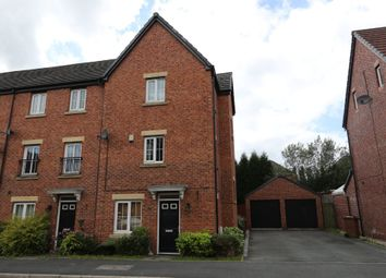 Thumbnail 4 bed town house to rent in 9 Lorna Way, Irlam, Manchester