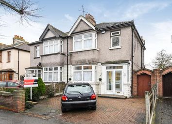 Thumbnail 3 bed semi-detached house for sale in Hornchurch, Essex, .
