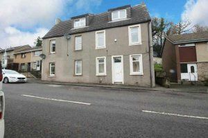 Thumbnail 2 bed flat to rent in 39 Main Street, Newmills, 8st