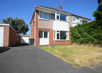 Thumbnail 3 bed semi-detached house for sale in Carlton Close, Parkgate, Neston