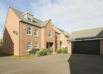 Thumbnail 5 bed detached house for sale in Senator Close, Hucknall, Nottinghamshire