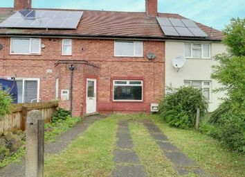 Thumbnail 2 bed terraced house for sale in Tunstall Crescent, Aspley, Nottingham