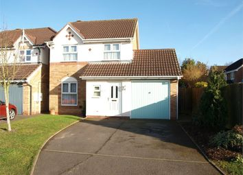 Thumbnail 3 bed detached house for sale in Jacklin Close, Branston, Burton-On-Trent, Staffordshire