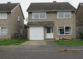 Thumbnail 4 bedroom detached house to rent in Red Lion Close, Alconbury, Huntingdon