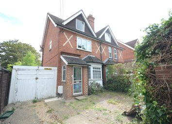 Thumbnail 3 bed semi-detached house for sale in Basingstoke Road, Spencers Wood, Reading
