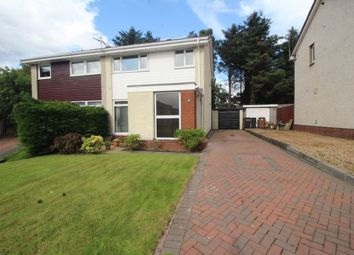 Thumbnail 3 bed semi-detached house for sale in Ogilvie Way, Livingston