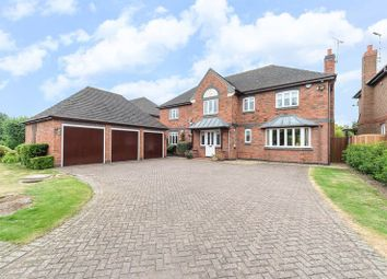 Thumbnail 5 bed detached house for sale in Brook Lane, Loughborough