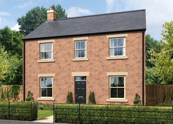 Thumbnail 4 bed detached house for sale in Armstrong Grove, Longframlington
