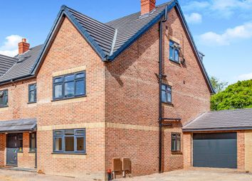 Thumbnail 4 bed semi-detached house for sale in Evelyn Gardens, Taplow, Maidenhead